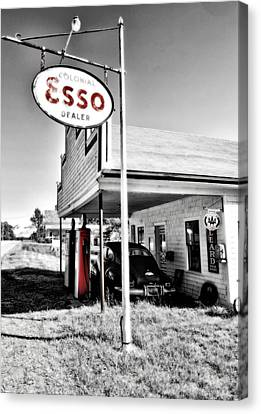 Esso Express Canvas Print by Chad Tracy