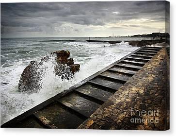 Estoril Coastline Canvas Print