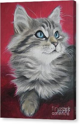 Estrella Canvas Print by Jindra Noewi
