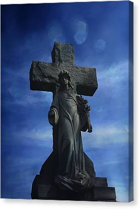 Canvas Print featuring the photograph Eternal Hope by Robin Dickinson