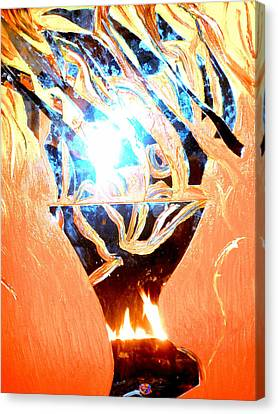 Eternal Torch Canvas Print by Tyler Schmeling