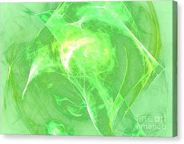 Canvas Print featuring the digital art Ethereal by Kim Sy Ok