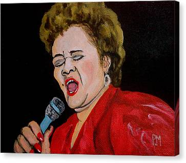 Etta Canvas Print by Pete Maier