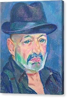 Eugene Zuckerman Canvas Print by Leonid Petrushin