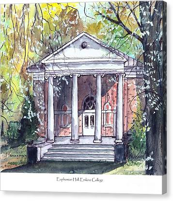 Euphemian Hall Canvas Print