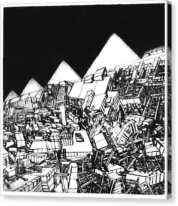 Europa 2036 Canvas Print by Walkdemar Szysz