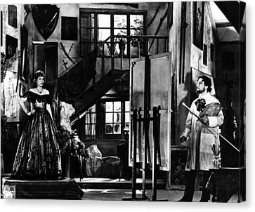 Eva Peron In Her Last Film, La Pradiga Canvas Print by Everett