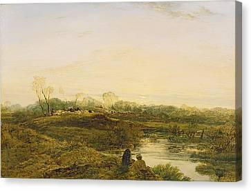 Evening - Bayswater Canvas Print