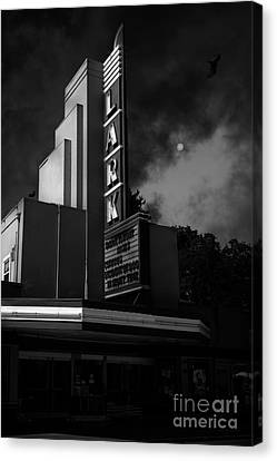 Evening At The Lark - Larkspur California - 5d18484 - Black And White Canvas Print by Wingsdomain Art and Photography