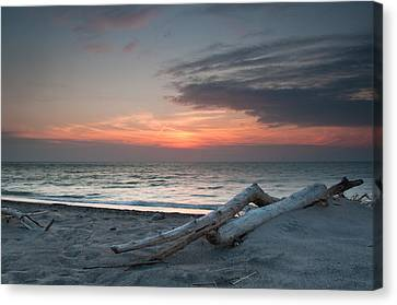 Evening Calm Canvas Print by At Lands End Photography
