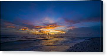 Evening Colors Canvas Print