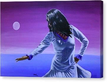 Evening Dance Canvas Print by Jerry Frech