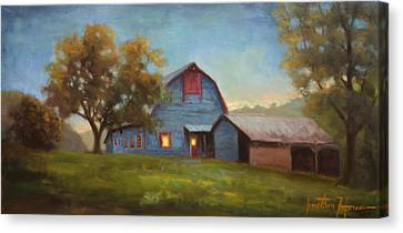 Evening Sanctuary Canvas Print by Jonathan Howe