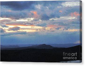 Canvas Print - Evening Sky Over The Quabbin by Randi Shenkman