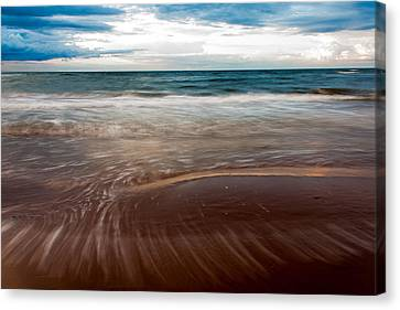 Evening Tide Canvas Print by Matt Dobson