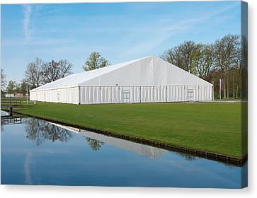 Event Tent Canvas Print by Hans Engbers