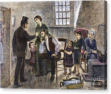 Eviction, 1873 Canvas Print