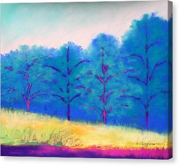 Exciting Landscape Canvas Print by Karin Eisermann