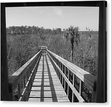Canvas Print featuring the photograph Exit To by Bill Lucas