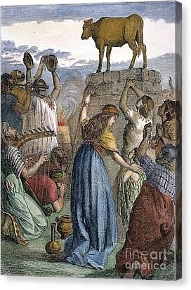 Exodus: Golden Calf Canvas Print by Granger