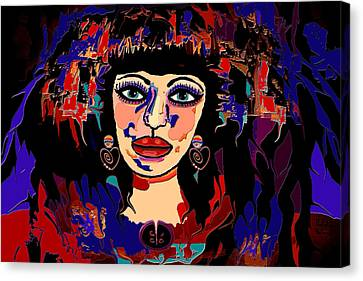 Exotic Woman Canvas Print by Natalie Holland