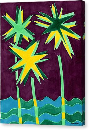 Expletives Canvas Print by Lesa Weller