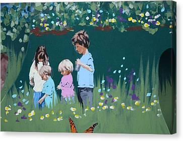 Exploring Canvas Print by Jan Swaren