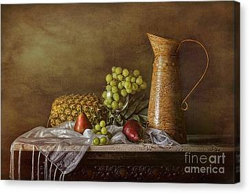 Exploring Still Life Canvas Print by Sari Sauls