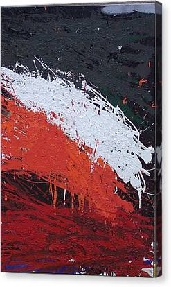 Brian Rock Canvas Print - Explosion 3 by Brian Rock
