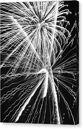 Explosions For Sovereignty And Liberty Canvas Print by Carolina Liechtenstein
