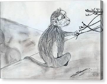 Expression Canvas Print by Shashi Kumar