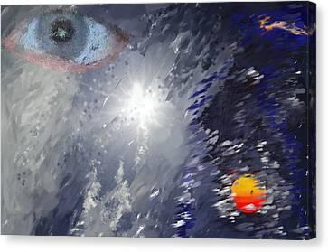 Eye In The Sky Canvas Print by Mark Stidham
