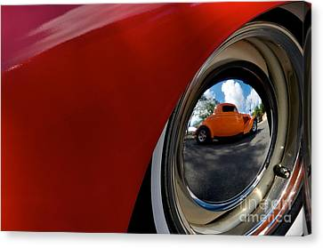 Canvas Print featuring the photograph Eye Of Envy by Sherry Davis