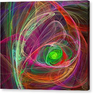 Eye Of The Storm Canvas Print by Ricky Barnard