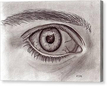 Eye Canvas Print by Pat Moore