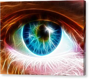 Eye Canvas Print by Paul Van Scott