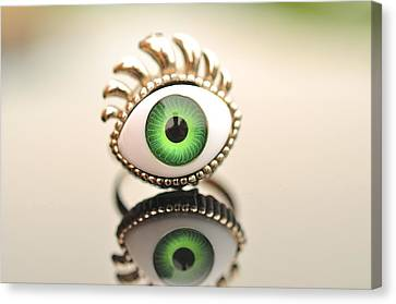 Eye Ring  Canvas Print