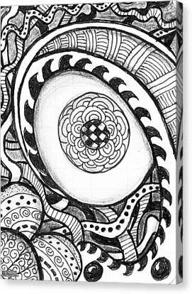 Eye See Canvas Print by Paula Greenlee