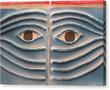 Canvas Print - Eyes Of Aviles by Warren Clark