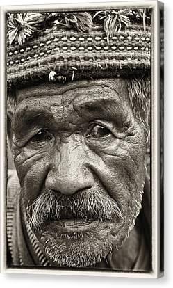 Eyes Of Soul Canvas Print by Skip Nall