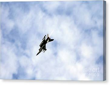 F-16 Of The Belgian Air Force Canvas Print by Luc De Jaeger