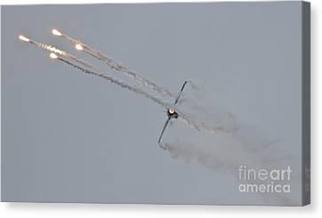 F-16 Vortex II Canvas Print by Lee Sure