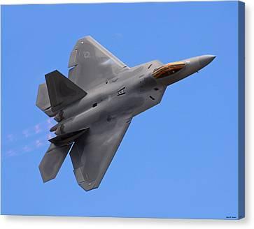 F-22 03 Canvas Print by Jeff Stallard