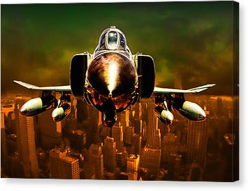 F-4 Canvas Print by Michael Cleere