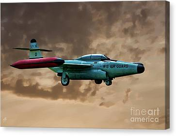 F-89 Scorpion Canvas Print by Tommy Anderson