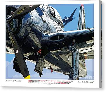 F8-f Bearcat Canvas Print