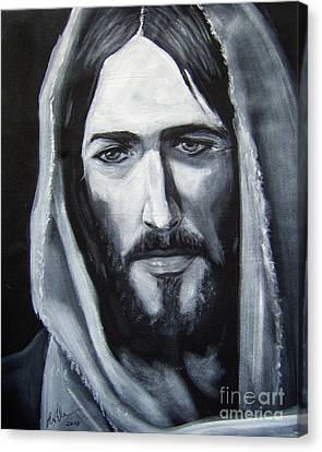 Face Of Christ - One Canvas Print