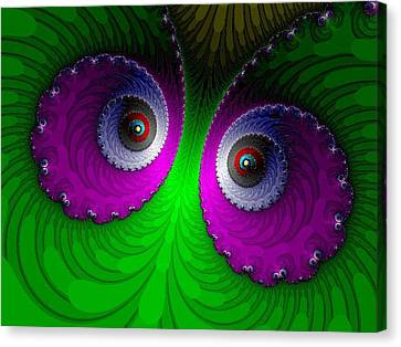 Face To Face Canvas Print by Ester  Rogers