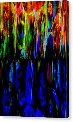 Fade To Blue Canvas Print by Angelina Vick
