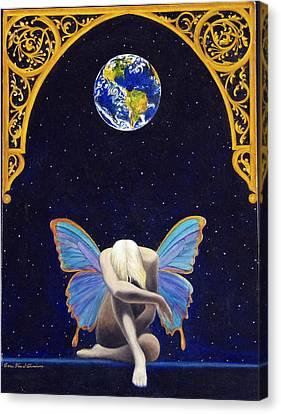 The Void Canvas Print - Fairies Lament by Cari Von Sternberg
